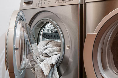 Photo d'une machine à laver