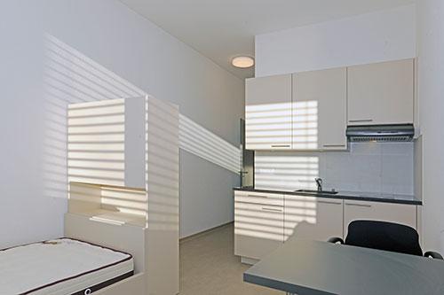 Photo d'une chambre dans l'appartement